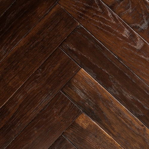 Hand-Made French Oak Chevron & Herringbone