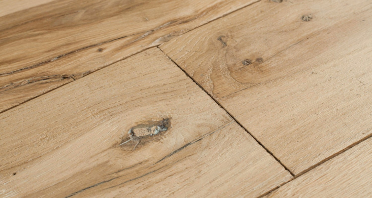 Re-Sawn Reclaimed French  Beam Oak Floorboards
