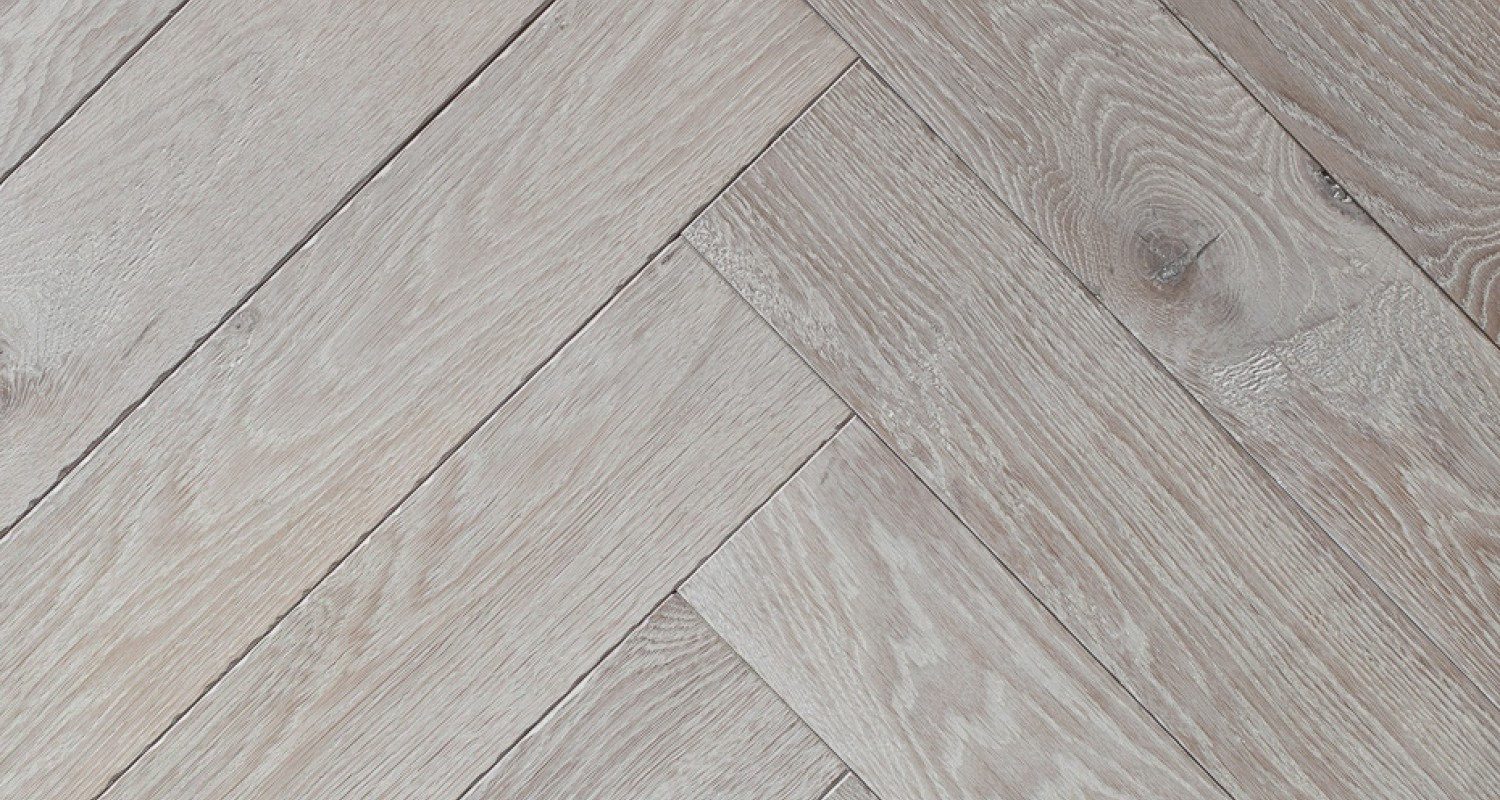 Beach Bone White Herringbone