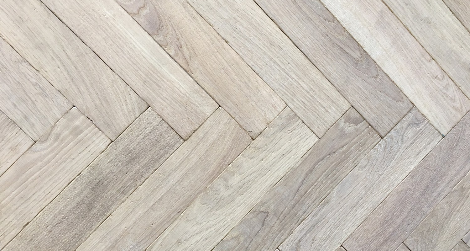 Traditional White Oak European Herringbone
