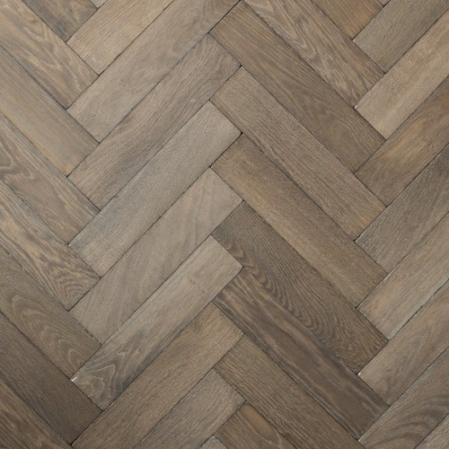 Kensington – Solid Oak Herringbone