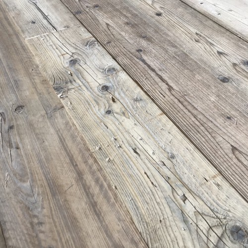 Reclaimed Mid Century Pine: Unfinished