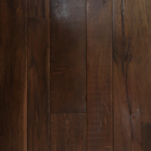 Reclaimed Engineered European Inner Beam Oak – Smoked