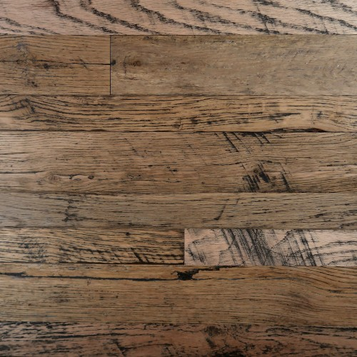 Reclaimed Engineered Handcrafted American Strip Oak – Unfinished & Sanded